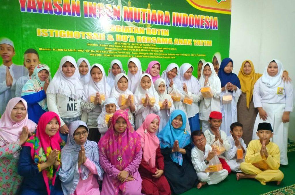 SANTUNAN PEKANAN YAYASAN INSAN MUTIARA INDONESIA