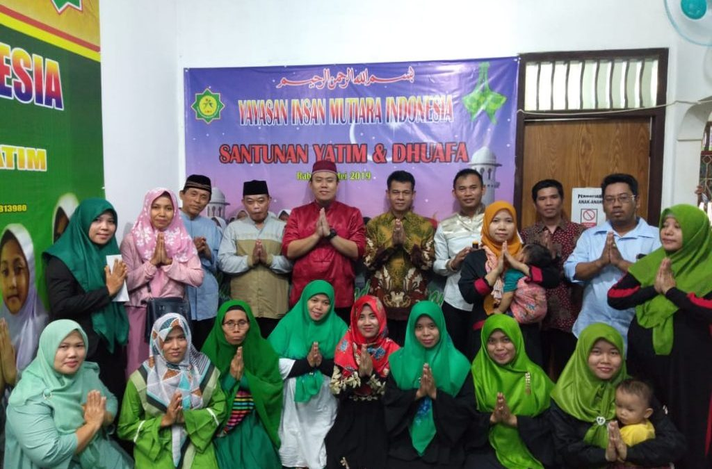 Santunan Akbar Paket Lebaran Kepada Yatim & Dhuafa ,Sekaligus Penyerahan Hadiah Kepada Pemenang Lomba Ceria Ramadhan1440 H di Yayasan IMI.